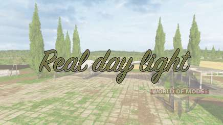 Real day light v1.1 für Farming Simulator 2017