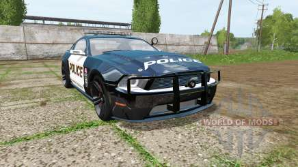 Ford Mustang Shelby GT Seacrest County Police pour Farming Simulator 2017