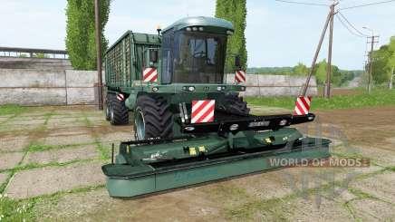 Krone BiG L 500 Camo v1.0.0.1 pour Farming Simulator 2017