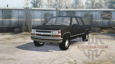 Chevrolet Suburban (GMT400) pour MudRunner