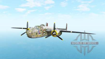 North American B-25 Mitchell v5.3.1 pour BeamNG Drive