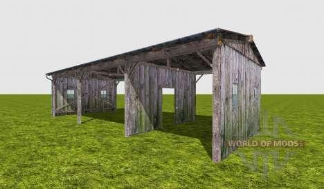 Cabane en bois pour Farming Simulator 2017