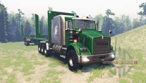 Kenworth T800 RS Titan pour Spin Tires
