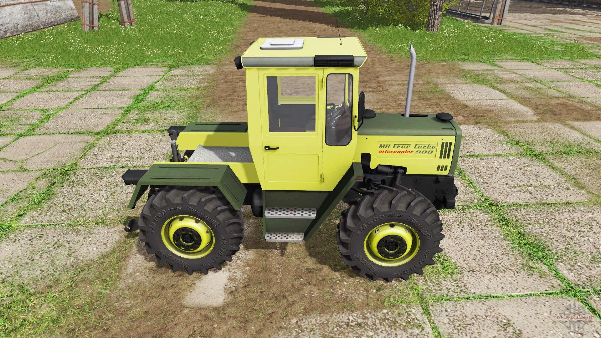 mercedes benz trac 900 turbo intercooler v2 2 f r farming. Black Bedroom Furniture Sets. Home Design Ideas