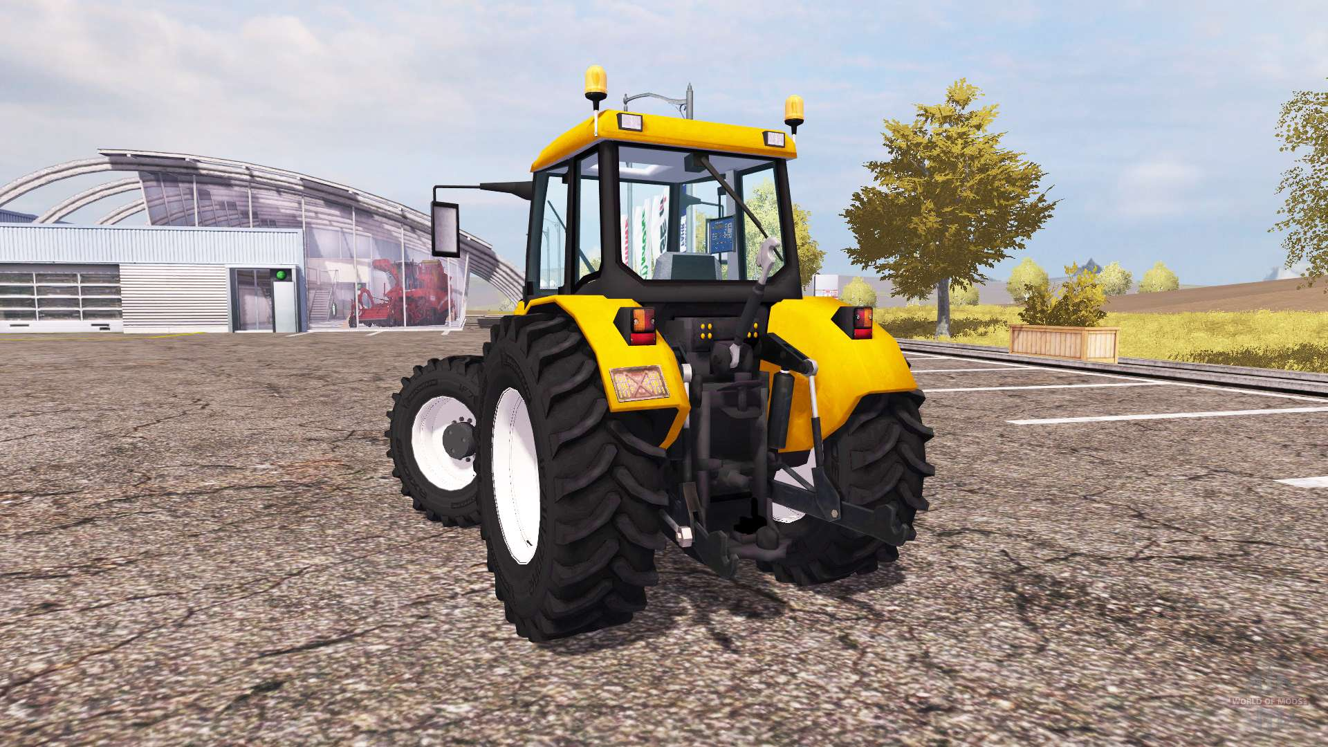 renault v2 1 pour farming simulator 2013. Black Bedroom Furniture Sets. Home Design Ideas