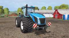 New Holland T9.565 wide tires