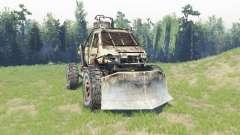 GAZ 3302 [Metro 2033] für Spin Tires