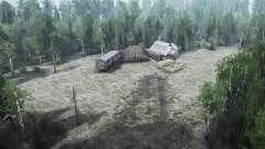 Le travail de forêt pour MudRunner