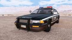 Gavril Grand Marshall NYPD v3.0 pour BeamNG Drive