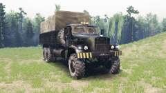 KRAZ 257 für Spin Tires