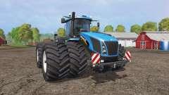 New Holland T9.565 twin wheels v1.2 pour Farming Simulator 2015