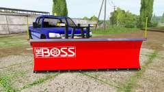 Chevrolet Silverado 2500 HD Crew Cab 2006 plow pour Farming Simulator 2017