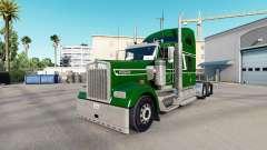 Haut Unkraut in den truck Kenworth W900