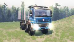 Tatra Phoenix T 158 8x8 v11.1 pour Spin Tires