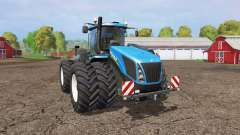 New Holland T9.565 twin wheels