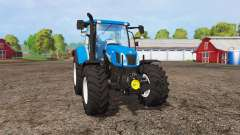 New Holland T6.160 front loader