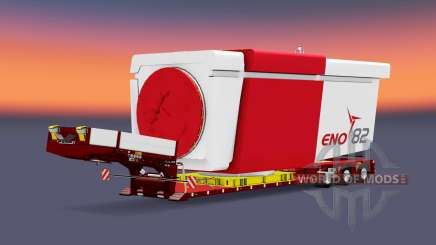 Doll Vario 3-axle v5.0 pour Euro Truck Simulator 2