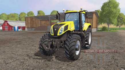 New Holland T8.435 multicolor für Farming Simulator 2015