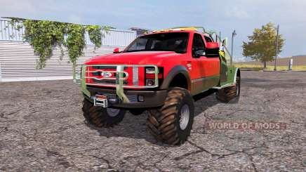 Ford F-350 Super Duty service pour Farming Simulator 2013