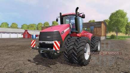 Case IH Steiger 620 twin wheels pour Farming Simulator 2015