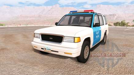 Gavril Roamer iraq police für BeamNG Drive