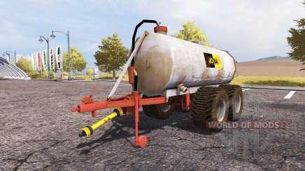 Jo-Ba manure barrel v3.1 pour Farming Simulator 2013