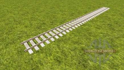 Eine Sammlung von Bahngleisen für Farming Simulator 2017