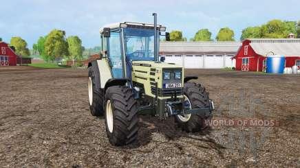 Hurlimann H488 Turbo front loader v1.2 für Farming Simulator 2015