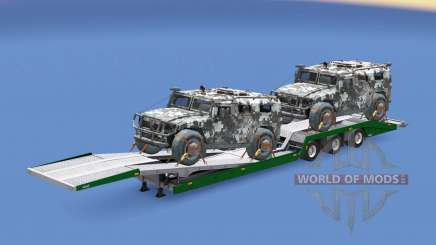 Military cargo pack v1.9 pour Euro Truck Simulator 2