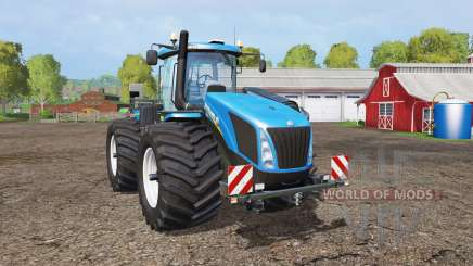New Holland T9.565 wide tires pour Farming Simulator 2015