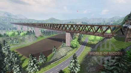 Silent valley pour Farming Simulator 2013