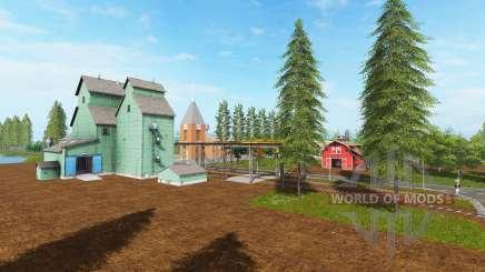 Canadian national map v1.2 für Farming Simulator 2017