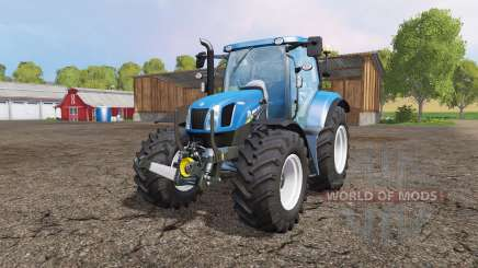 New Holland T6.160 front loader v1.1 für Farming Simulator 2015