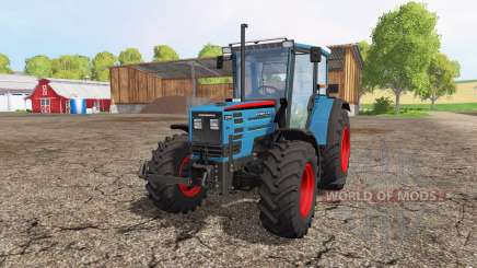 Eicher 2090 Turbo front loader v1.1 pour Farming Simulator 2015