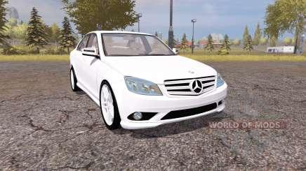 Mercedes-Benz C350 Sport (W204) pour Farming Simulator 2013
