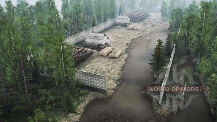 Sibérien de la forêt 2 v1.1 pour MudRunner