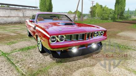 Plymouth Cuda 1971 pour Farming Simulator 2017