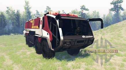 Rosenbauer Panther 8x8 CA7 v1.0 pour Spin Tires