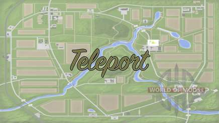 Teleport v1.1 für Farming Simulator 2017