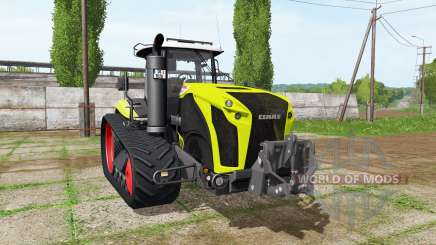 CLAAS Xerion 4000 TerraTrac v1.1 pour Farming Simulator 2017