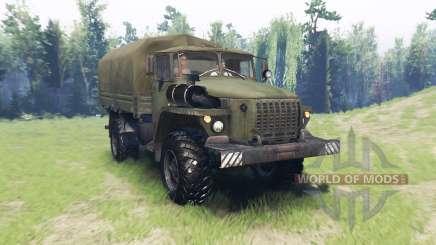 Ural 43206-41 für Spin Tires