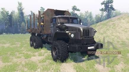 Ural-43260 für Spin Tires