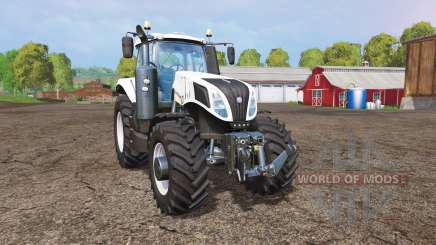 New Holland T8.435 white pour Farming Simulator 2015