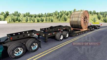 Fontaine Magnitude 55L cable roll für American Truck Simulator