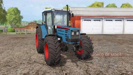 Eicher 2090 Turbo front loader pour Farming Simulator 2015