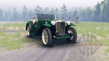 MG TC Midget 1948 pour Spin Tires