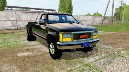 GMC Sierra One Ton 1992 pour Farming Simulator 2017