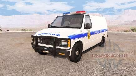 Gavril H-Series honolulu police für BeamNG Drive