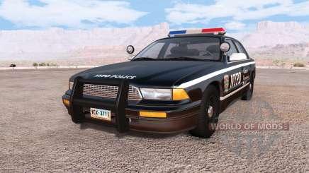 Gavril Grand Marshall NYPD v3.0 für BeamNG Drive