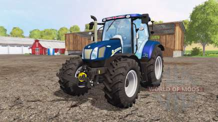 New Holland T6.160 blue power v1.1 für Farming Simulator 2015